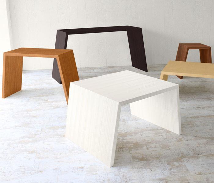 ハノ字のセンターテーブル